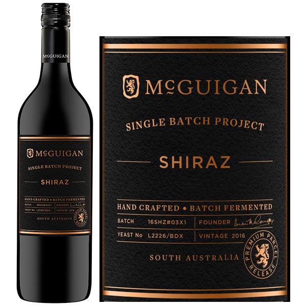 Rượu Vang McGuigan Single Batch Project Shiraz