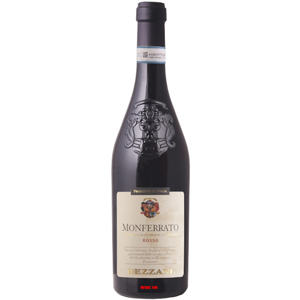 Rượu Vang Monferrato Rosso Dezzani