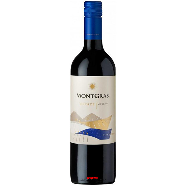 Rượu Vang MontGras Estate Merlot