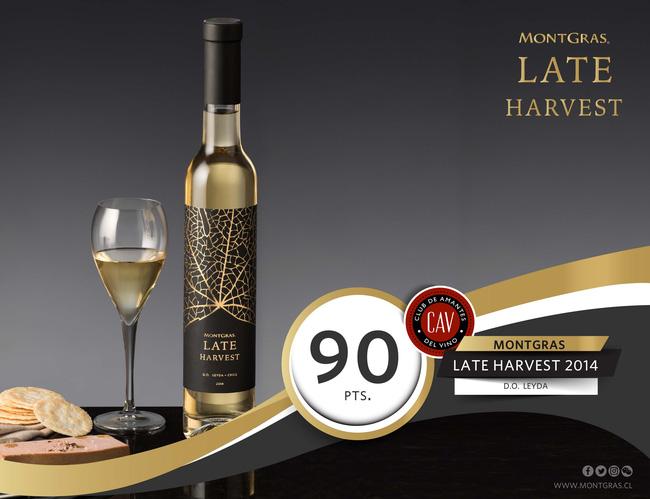 Rượu Vang MontGras Late Harvest