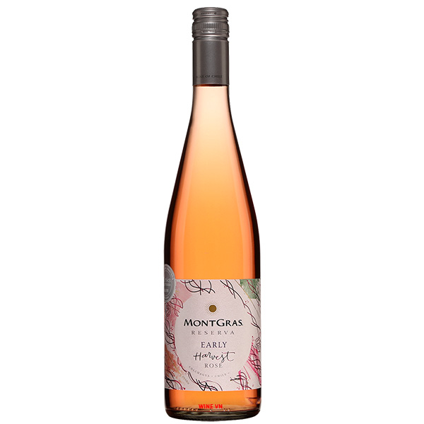 Rượu Vang MontGras Reserva Early Harvest Rose