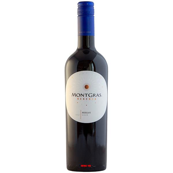 Rượu Vang MontGras Reserva Merlot