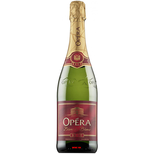 Rượu Vang Nổ Opera Blanc De Blanc