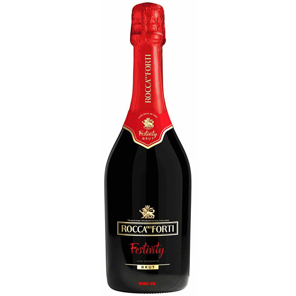 Rượu Vang Nổ Rocca Dei Forti Festivity Brut