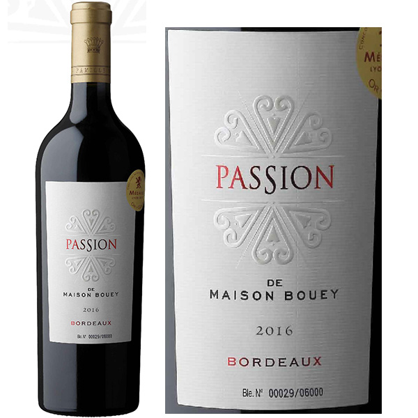 Rượu Vang Passion Maison De Bouey