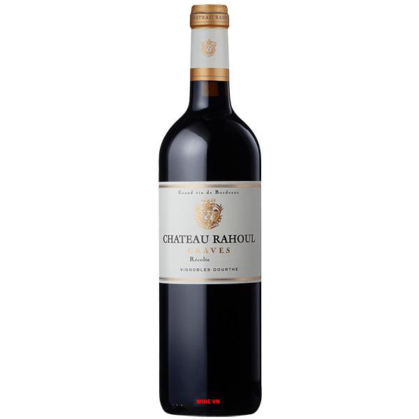 Rượu Vang Pháp Chateau Rahoul Graves