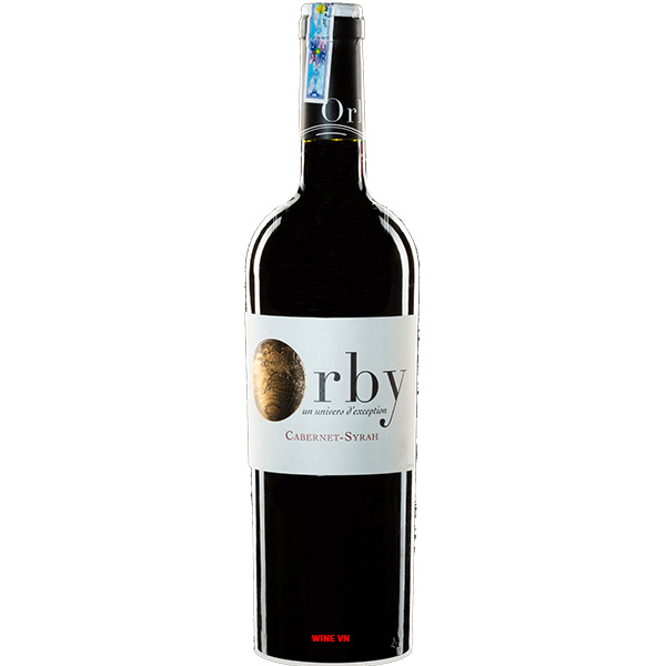 Rượu Vang Pháp Orby Cabernet - Syrah