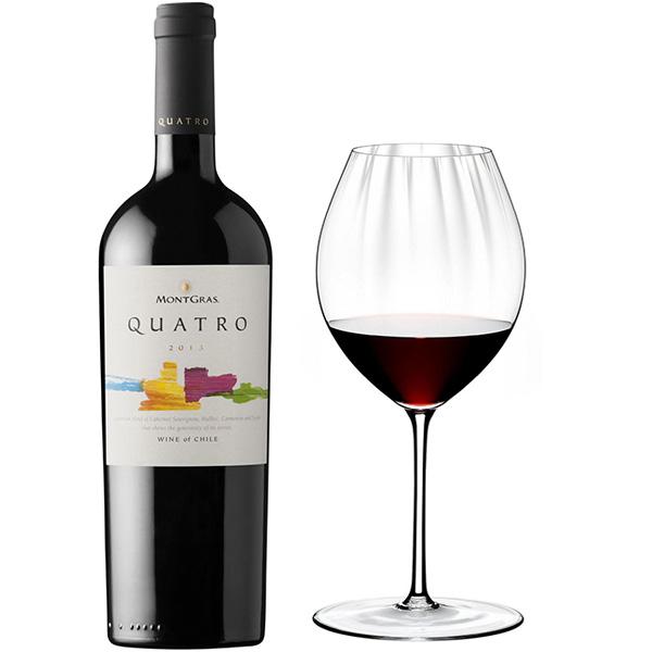 Rượu Vang Quatro MontGras Blend