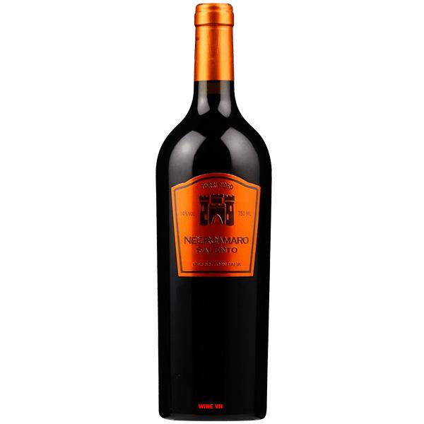 Rượu Vang TORRI D'ORRO Negroamaro