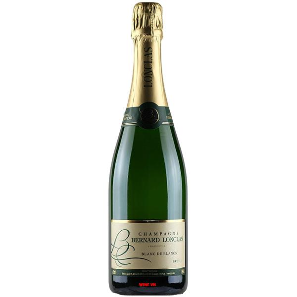 Rượu Champagne Bernard Lonclas Blanc