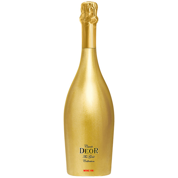 Rượu Sparkling Cuvee DEOR The Gold collection