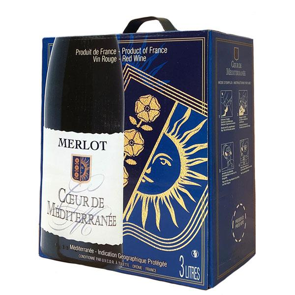 Rượu Vang Bịch Coeur De Méditerranée