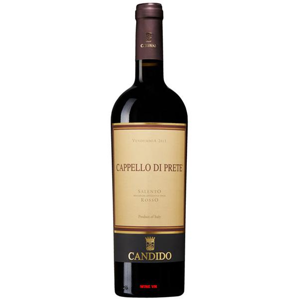 Rượu Vang Candido Cappello Di Prete Salento Rosso