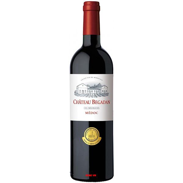 Rượu Vang Chateau Begadan
