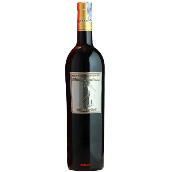 Rượu Vang Chateau Berthenon Cuvee Du Golf