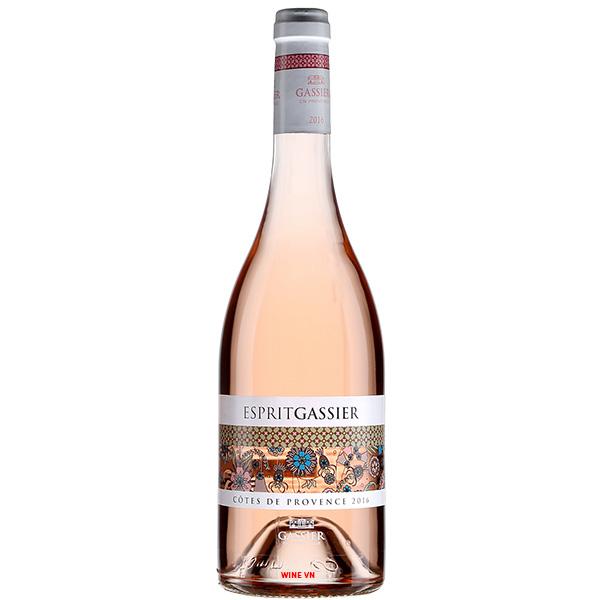 Rượu Vang Chateau Gassier Esprit Gassier