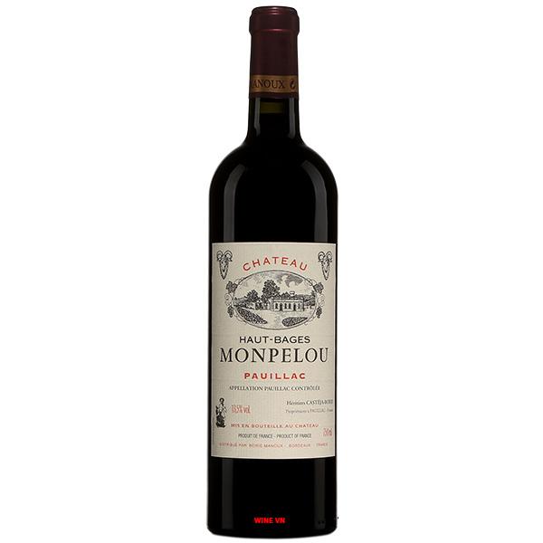 Rượu Vang Chateau Haut Bages Monpelou