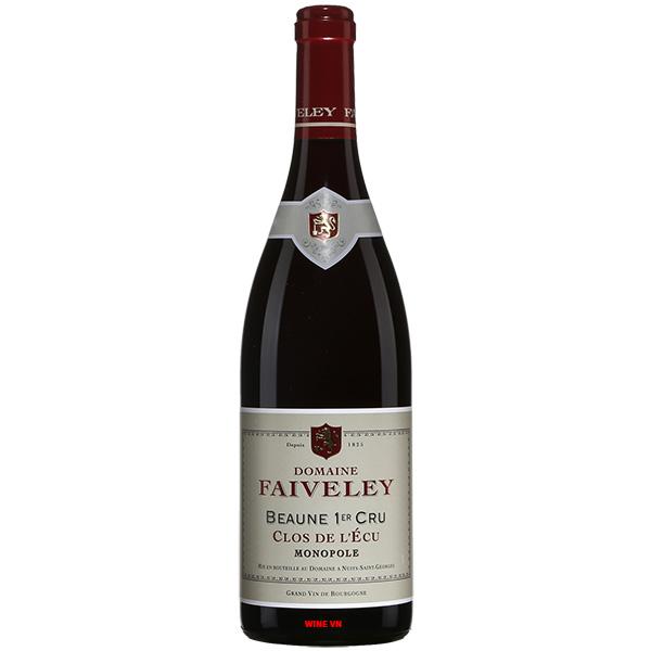 Rượu Vang Domaine Faiveley Beaune 1er Cru Clos De L'Ecu Monopole