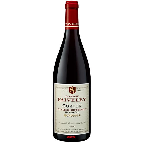 Rượu Vang Domaine Faiveley Corton Clos Des Corton Faiveley Grand Cru Monopole