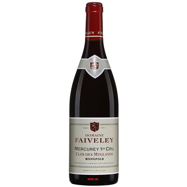 Rượu Vang Domaine Faiveley Mercurey 1er Cru Clos Des Myglands Monopole