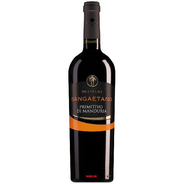 Rượu Vang Due Palme Sangaetano Primitivo Di Manduria