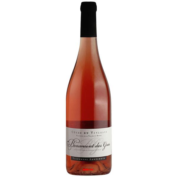 Rượu Vang Hồng Vignerons Ardechois Beaumont Des Gras