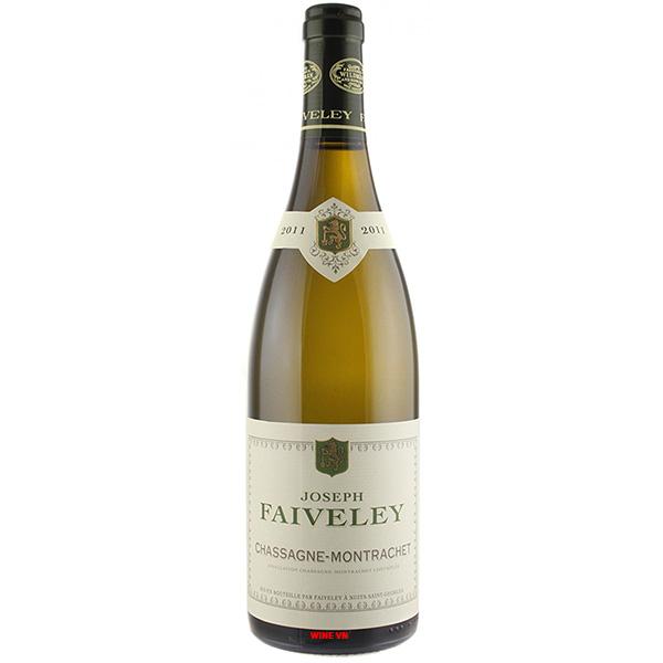 Rượu Vang Joseph Faiveley Chassagne Montrachet