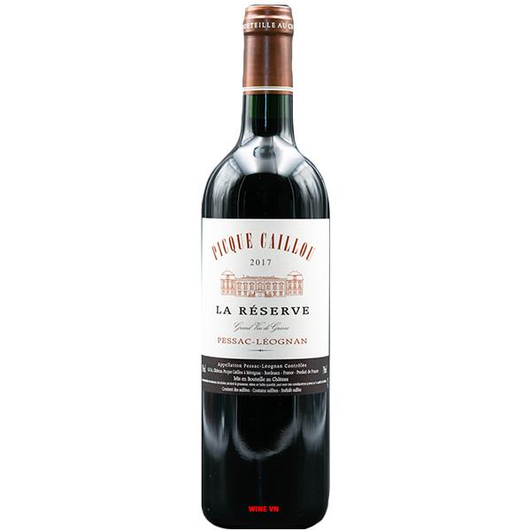 Rượu Vang La Reserve De Picque Caillou