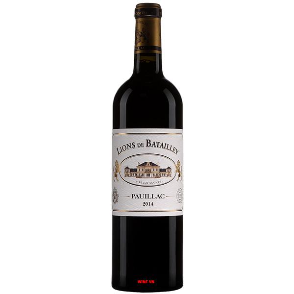 Rượu Vang Lions De Batailley Pauillac