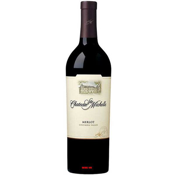 Rượu Vang Mỹ Chateau Ste MichelleMerlot