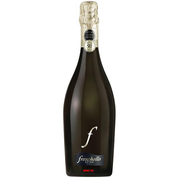 Rượu Vang Nổ Freschello Extra Dry