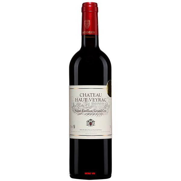 Rượu Vang Pháp Chateau Haut Veyrac