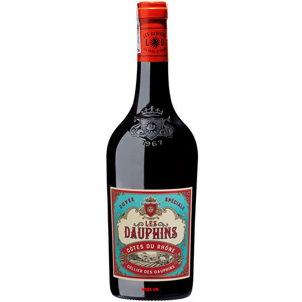 Rượu Vang Pháp Les Dauphins