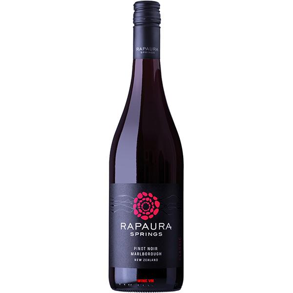 Rượu Vang Rapaura Springs Pinot Noir