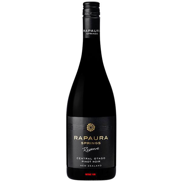 Rượu Vang Rapaura Springs Reserve Central Otago