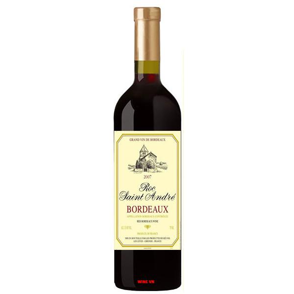 Rượu Vang Roc Saint Andre Bordeaux