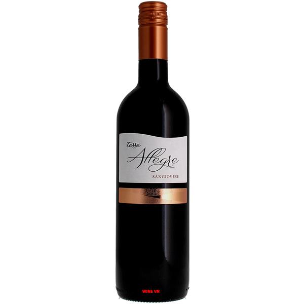 Rượu Vang Terre Allegre Sangiovese