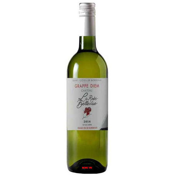 Rượu Vang Trắng Chateau La Rose Bellevue Grappe Diem