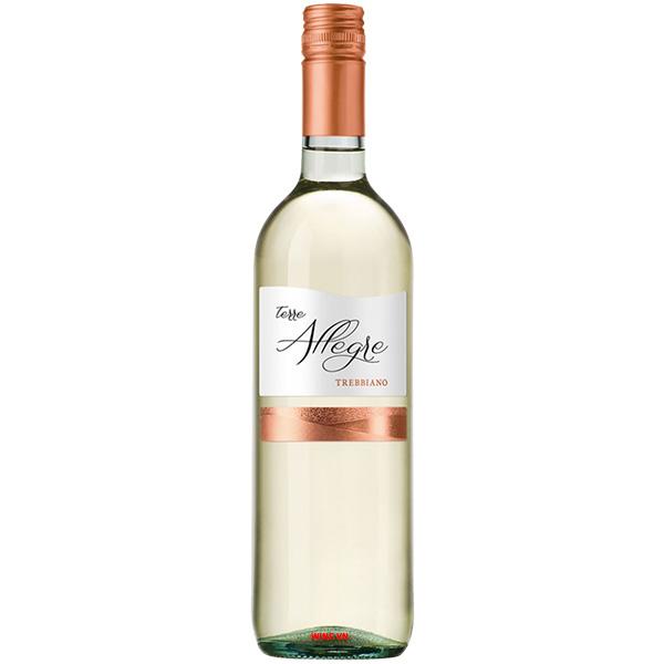 Rượu Vang Trắng Terre Allegre Trebbiano
