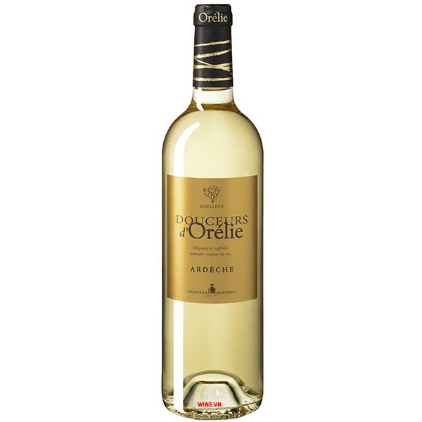 Rượu Vang Vignerons Ardechois Ardeche Douceurs d'Orelie