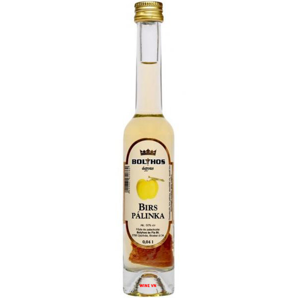 Rượu Bolyhos Birs Palinka