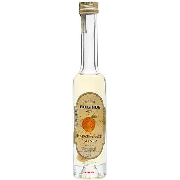 Rượu Bolyhos Kajszibarack Palinka