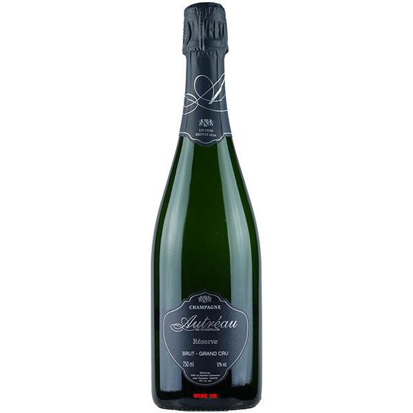 Rượu Champagne Autreau Reserve Brut Grand Cru