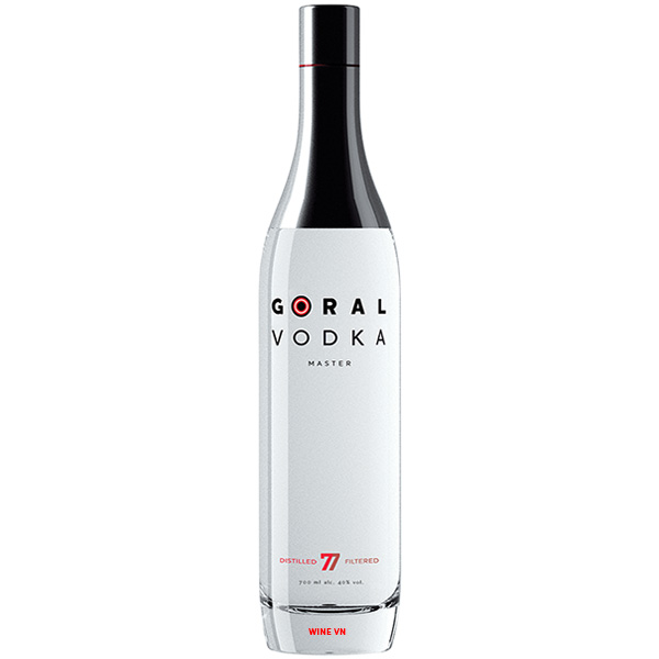 Rượu Goral Vodka Master