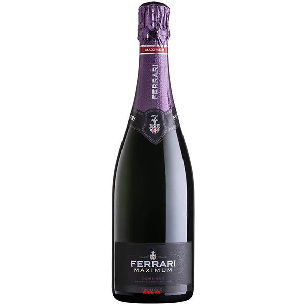 Rượu Sparkling Ferrari Maximum Demi Sec Trentodoc