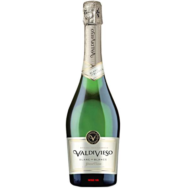 Rượu Sparkling Valdivieso Blanc De Blancs