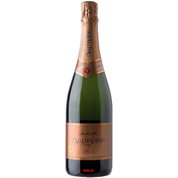 Rượu Sparkling Wine Valdivieso Brut Extra