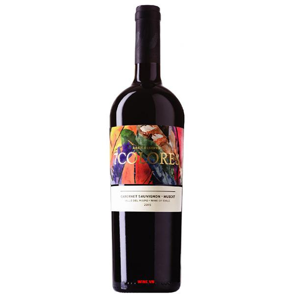 Rượu Vang 7Colores Gran Reserva Cabernet Sauvignon - Muscat