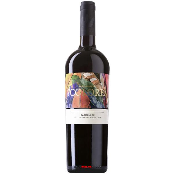Rượu Vang 7Colores Gran Reserva Carmenère