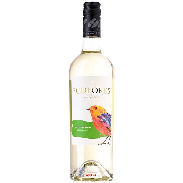 Rượu Vang 7Colores Sauvignon Blanc